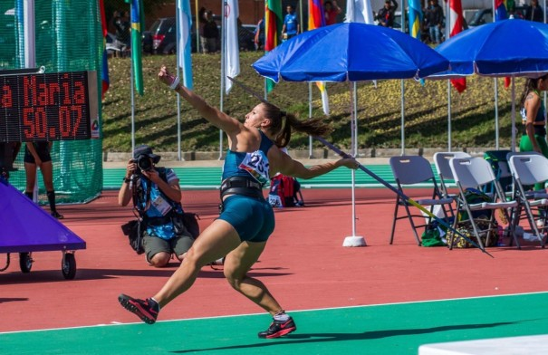 Eloah é bronze no Sul-americano de Atletismo