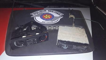 PM prende dois indivíduos por furto em Adamantina