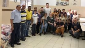 Entidades recebem alimentos arrecadados no ARF 2018