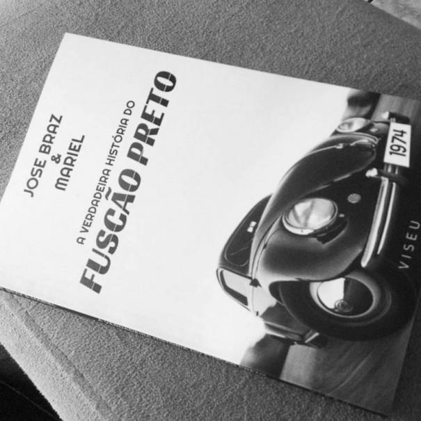 Lançamento do livro 'A verdadeira história do Fuscão Preto' marca final de semana