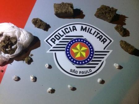 Polícia Militar faz flagrante por tráfico, corrupção de menores e associação para o tráfico em Lucélia
