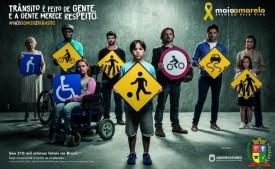 Secretaria Municipal de Educação encerra ações do Maio Amarelo neste final de semana