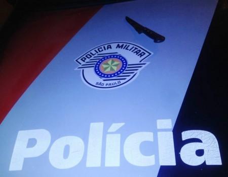 Polícia Militar detém indivíduo por ameaça e lesão corporal a um comerciante em Osvaldo Cruz