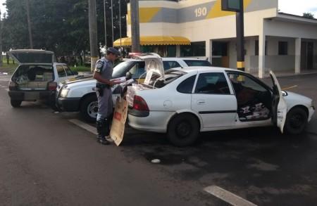 Paraguaio é preso em flagrante com carga de cigarros contrabandeados em Presidente Epitácio