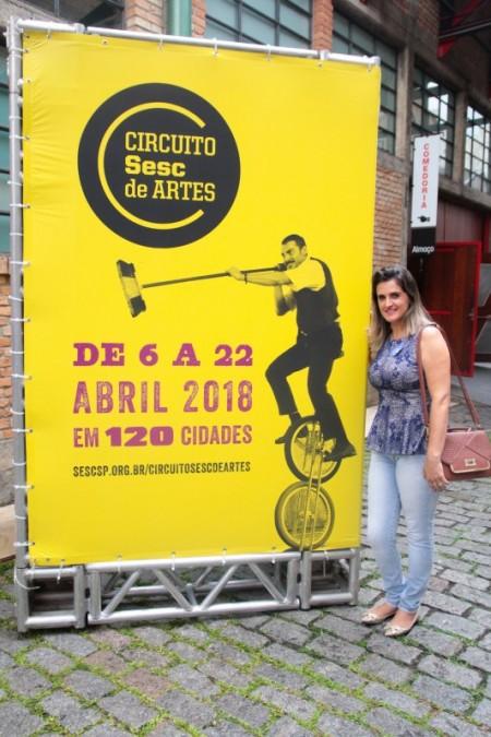 Osvaldo Cruz esteve presente no lançamento do Circuito Sesc 2018