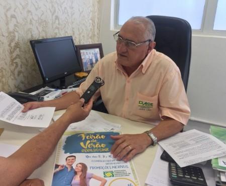 FEIRÃO DE VERÃO: ACEOC organiza a primeira promoção do ano no comércio de Osvaldo Cruz