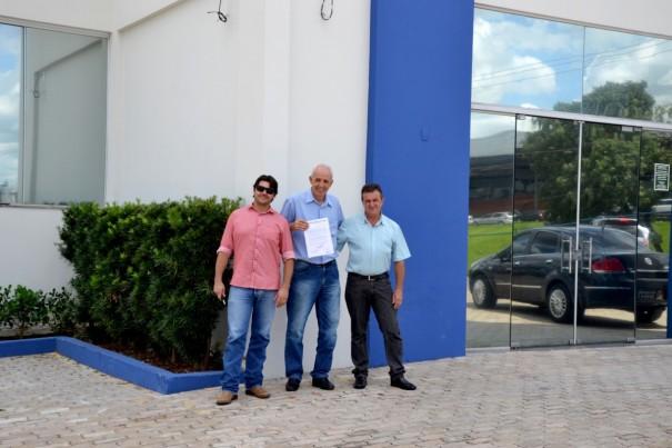 Presidente da Câmara e vereadores de Osvaldo Cruz, solicitam melhoria no atendimento da Caixa Federal
