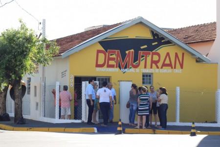 DEMUTRAN é inaugurado em novo endereço