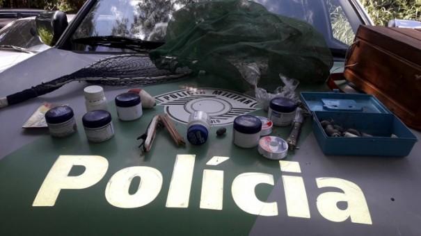 Polícia Militar Ambiental flagra pessoas pescando em local proibido no município de Parapuã