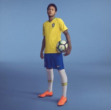 Ouro Samba: CBF lança uniforme com amarelo vibrante para a Copa da Rússia