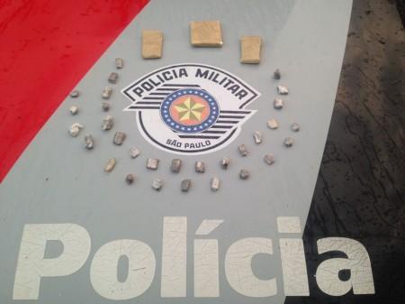 Procurado da justiça é capturado pela PM com drogas em Lucélia