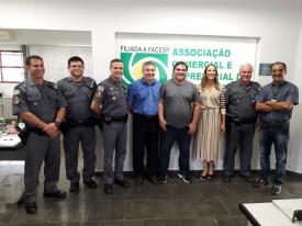 ACEOC recebe visita de representantes da PM e Juíza da 1ª Vara da Comarca