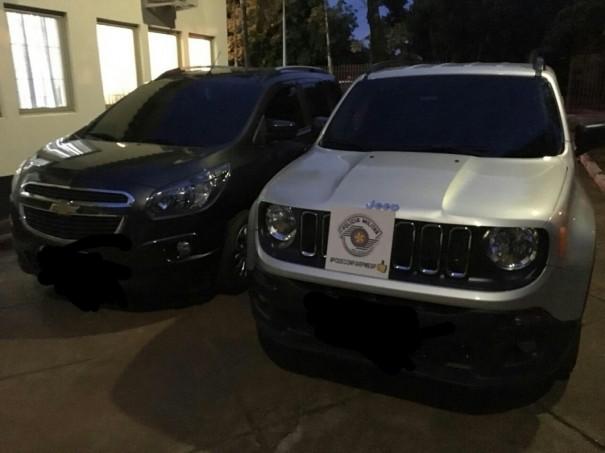 Polícia Militar de Paulicéia prende autores de tentativa de furto a uma agência bancária