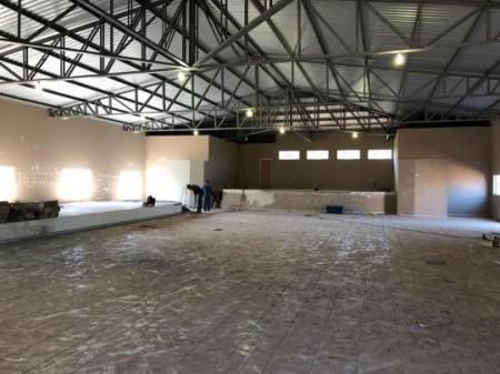 Prefeitura de Sagres retoma obra do novo Centro Comunitário