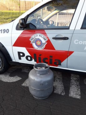 Polícia Militar de OC prende indivíduo por furtar botijão de gás na Igreja Matriz