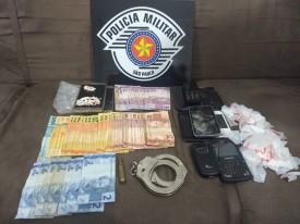 Dois foram detidos por tráfico e um condenado da justiça foi capturado em Junqueirópolis