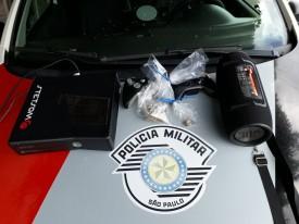 Polícia Militar de Dracena prende rapaz em flagrante por tráfico de Drogas e lesão Corporal