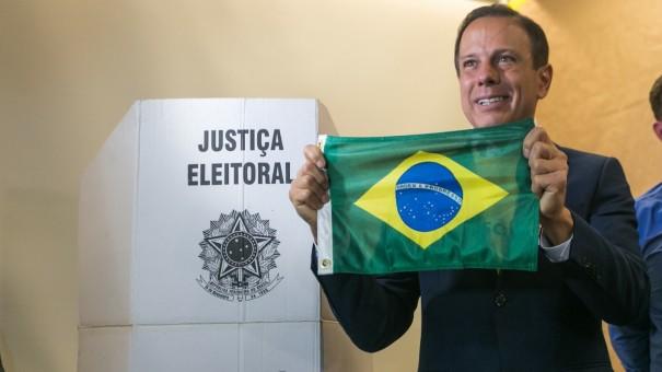 João Dória, do PSDB, é eleito governador de São Paulo