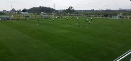 Palmeiras vence, mantém a invencibilidade e elimina o Osvaldo Cruz no Paulista Sub-15