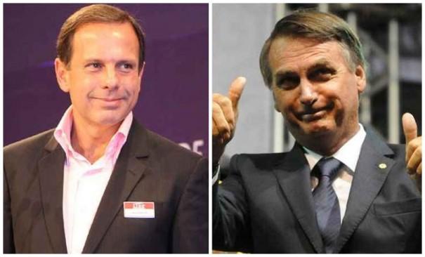 Bolsonaro e Dória vencem no segundo turno em Osvaldo Cruz