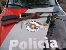 Após receber denúncia anônima, Polícia Militar de OC apreende arma de fogo