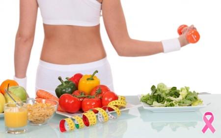 Alimentação e exercícios podem prevenir o Câncer de Mama