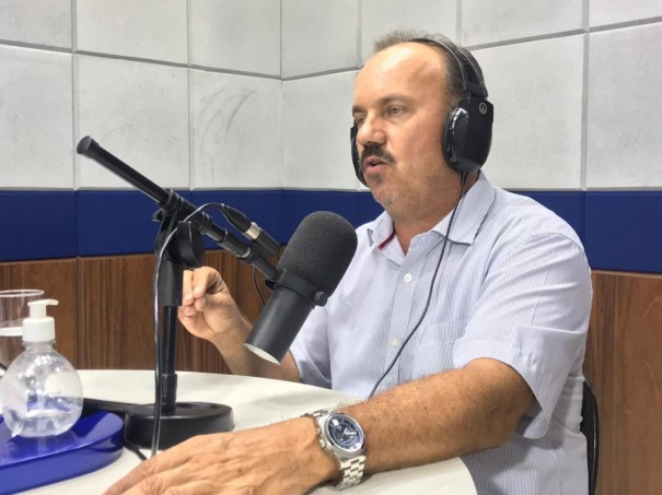 Prefeito de OC, Edmar Mazucato testa positivo para Covid-19