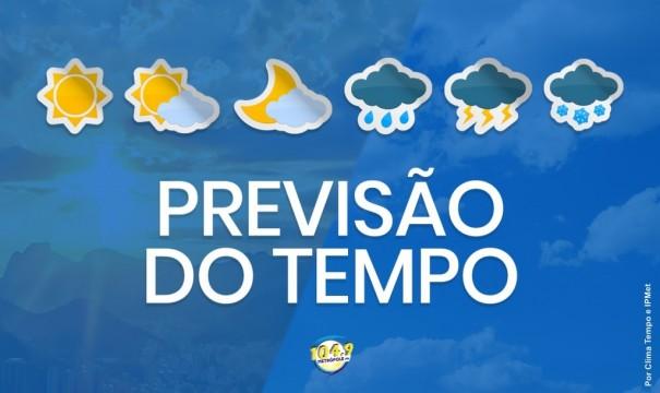 Previsão do Tempo: Confira como fica o tempo em Osvaldo Cruz e região nesta sexta-feira (22)