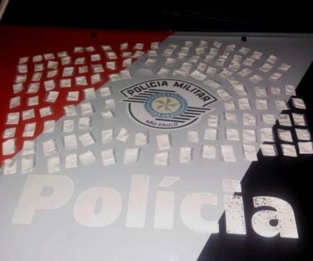 Força Tática prende indivíduo com grande quantidade de cocaína em Flórida Paulista