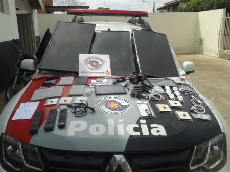 Polícia age rápido e soluciona furto da Secretaria de Saúde de OC