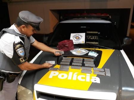Fiscalização prende passageiro de ônibus por tráfico internacional de munições em Presidente Epitácio