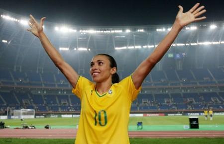 Fifa The Best: Marta é eleita melhor jogadora do mundo pela sexta vez