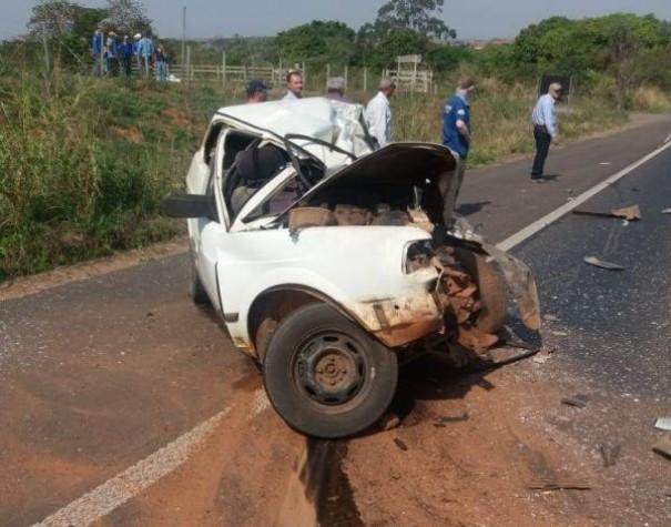 Grave acidente na SP-294 deixa vítima fatal
