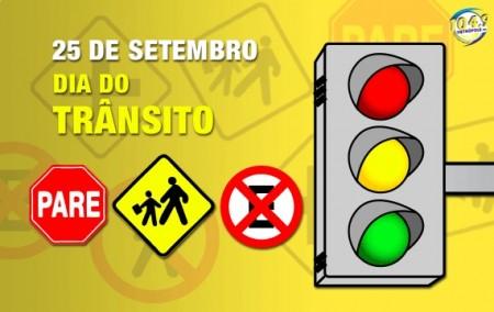 25 de setembro: Dia do Trânsito