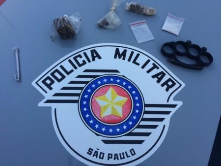 Polícia Militar de Adamantina prende estudante por tráfico de droga sintética