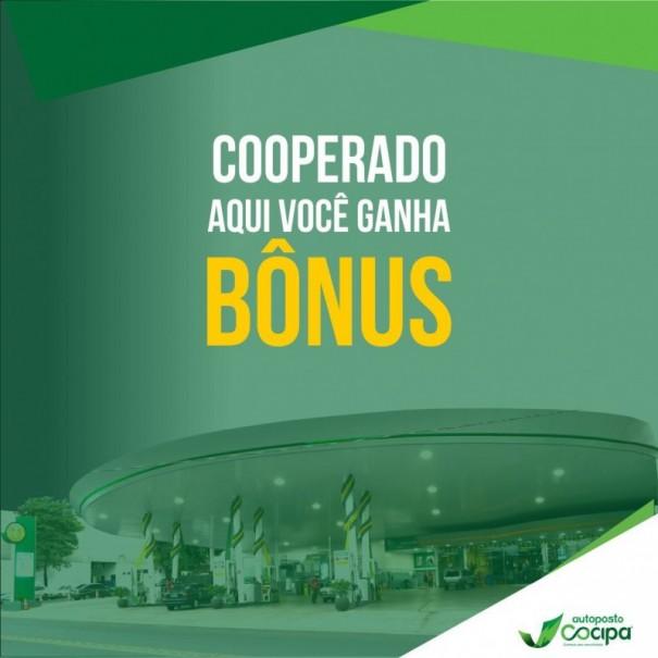 Auto Posto Cocipa transforma abastecimento em bônus para o Supermercado