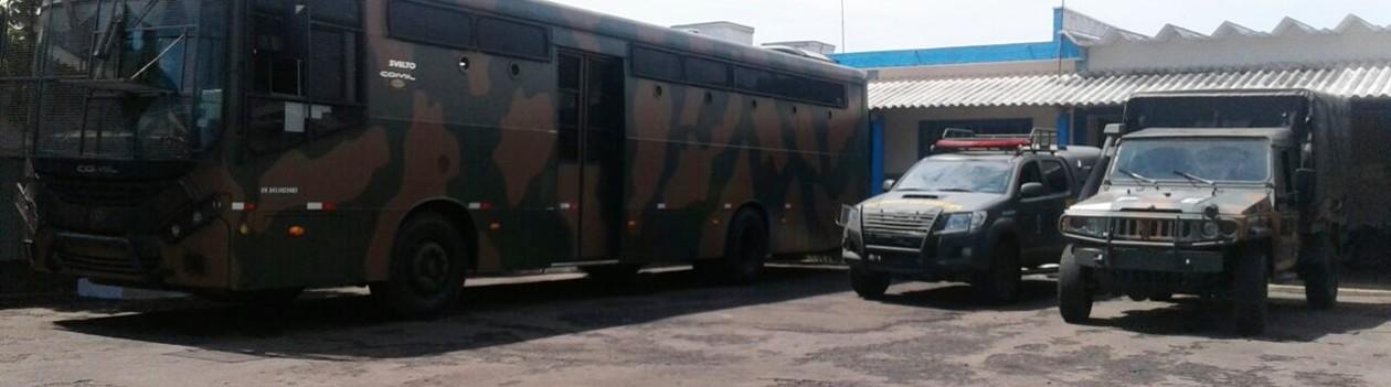 Polícia do Exército realiza operação na Rodovia Assis Chateubriand e monta base em Osvaldo Cruz