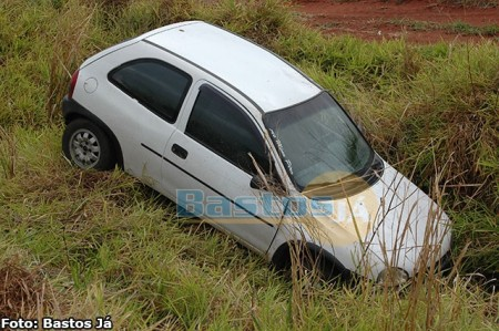 Moradora de Birigui fica ferida em acidente na SP-457, no trecho Bastos - Rancharia