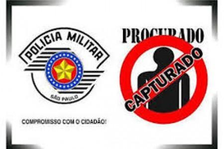 Policia Militar de Osvaldo Cruz prende dois procurados pela justiça