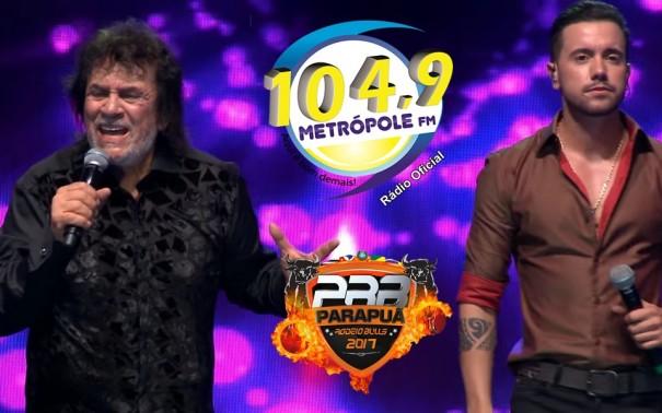 Parapuã Rodeio Bulls começa hoje com show de Matogrosso e Mathias
