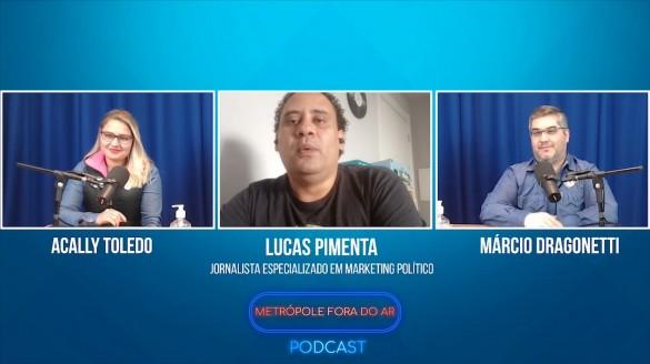 Metrópole Fora do Ar Podcast - Entrevista com Lucas Pimenta #02