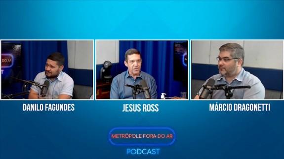 Metrópole Fora do Ar Podcast #03 - Entrevista com Jesus Ross - Ex-Diretor do Carandiru