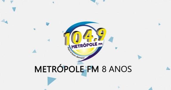 Rádio Metrópole FM - 8 anos - Osvaldo Cruz/SP