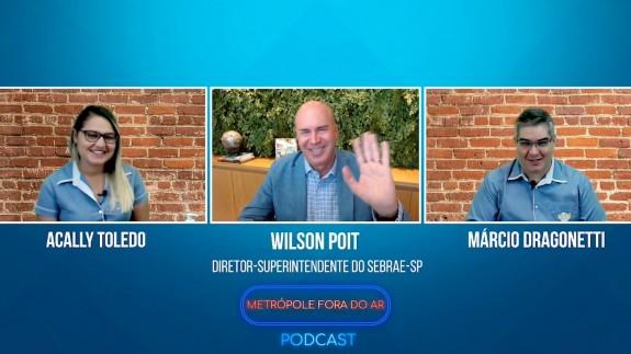 Metrópole Fora do Ar Podcast - Entrevista com Wilson Poit #01