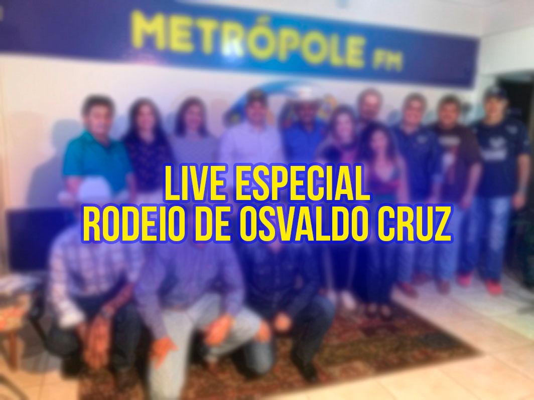 Live Especial Rodeio Osvaldo Cruz